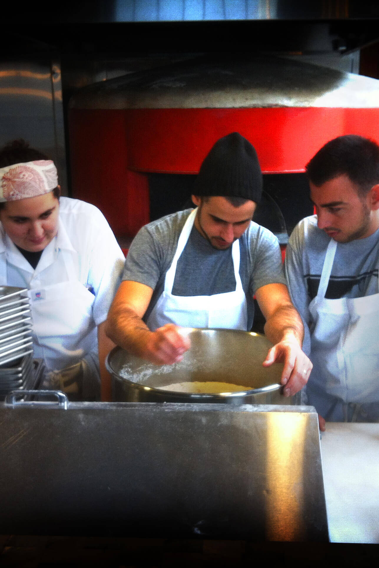 three chefs of Bestia